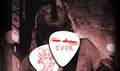Non Divine Custom Guitar Picks