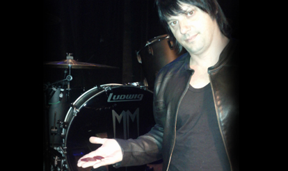 Marilyn Manson Custom Guitar Picks, Personalized Guitar Picks