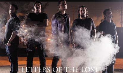 Letter of the Lost Custom Guitar Picks