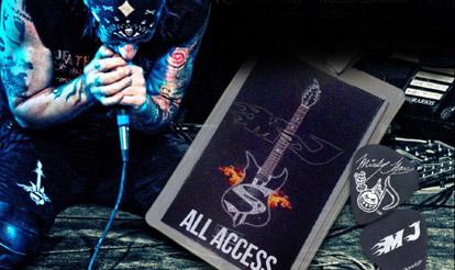 Micky James Personalized Guitar Picks