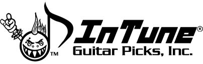 InTune Guitar Picks maker of Personalized guitar picks