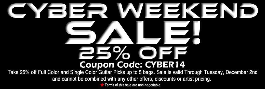 Personalized Guitar Pick Sale