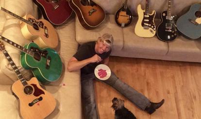 Custom Guitar Picks and Personalized Guitar Picks artist Michael Chandler of Shane Smith