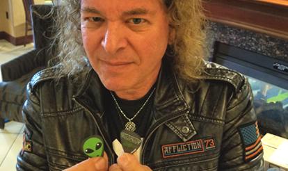 Custom Guitar Picks Dave Meniketti of Y and T