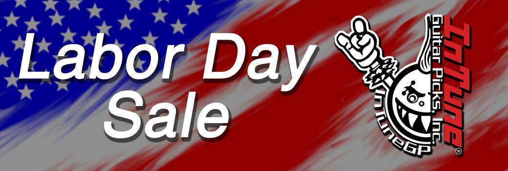 2019 Labor Day Guitar Pick Sale