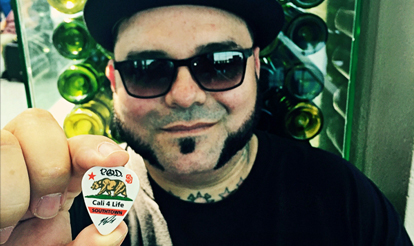 Custom Guitar Picks Marcos Curiel of POD