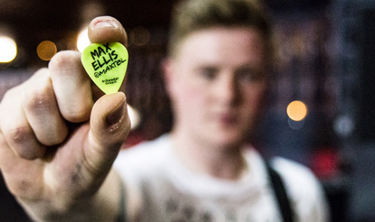 Custom Guitar Picks Max of The Bottom Line