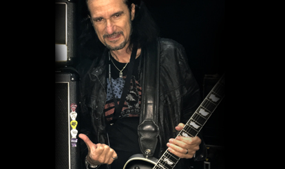 Personalized guitar picks for InTuneGP artist Bruce Kulick