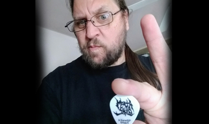Personalized guitar picks for InTuneGP artist Dave Gregor