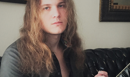 Personalized guitar picks for InTuneGP artist Jake Dreyer