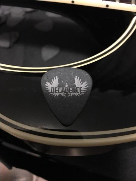 Custom Guitar Picks Decadence