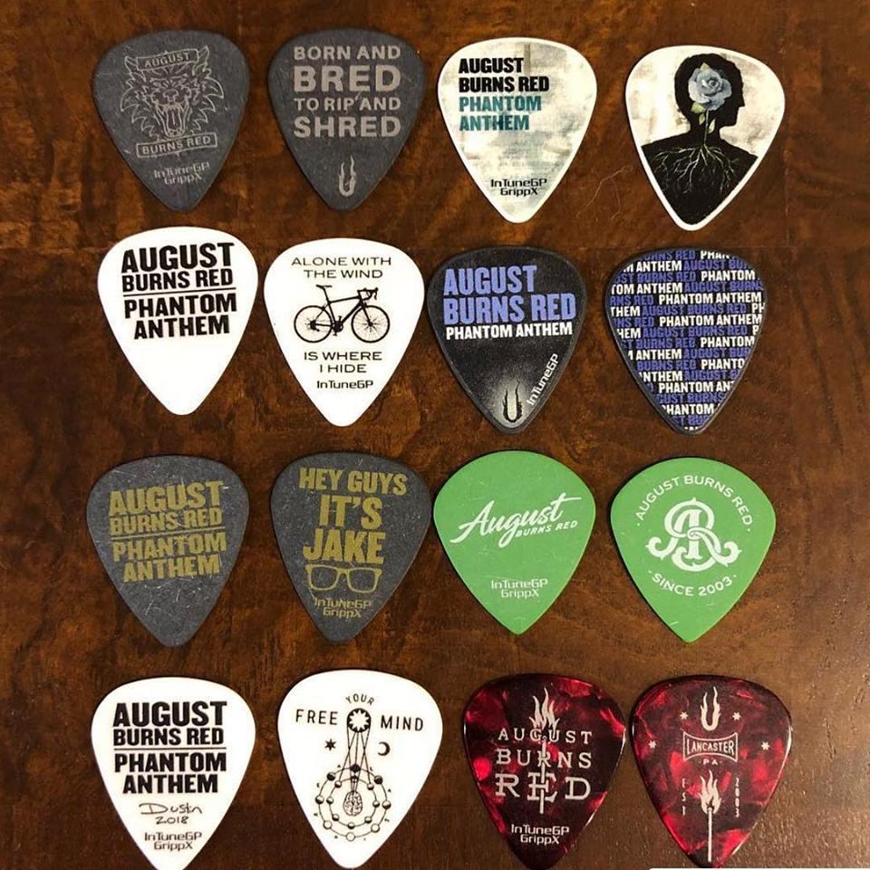 August Burns Red Custom Guitar Picks