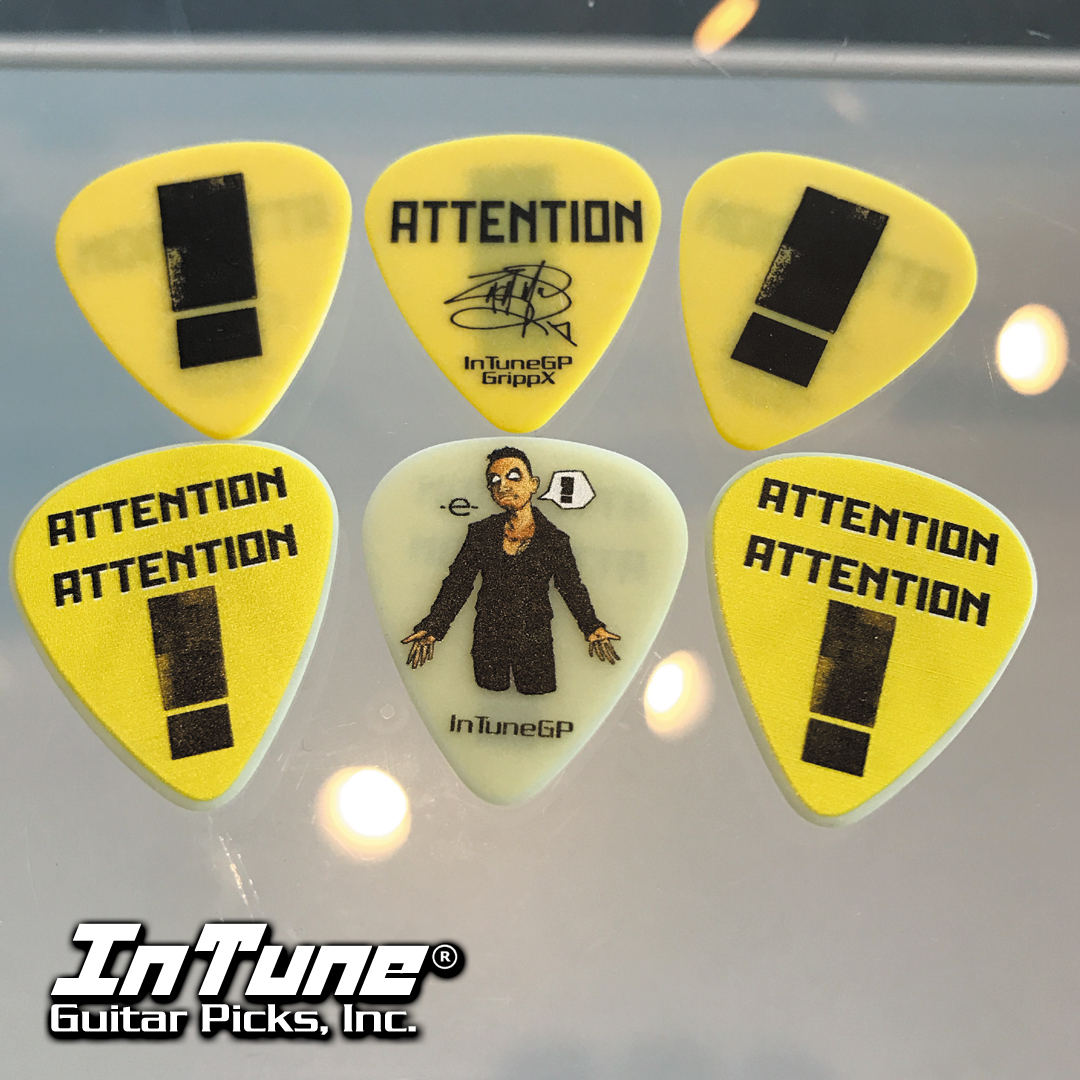 Attention Attention Personalized Guitar Picks