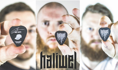 Personalized Guitar PIcks Haliwel Custom Guitar Picks