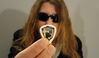 Personalized Guitar Picks Marten Andersson Custom Guitar Picks
