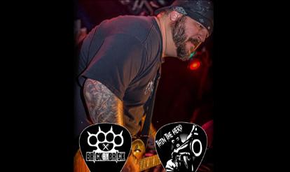 Personalized Guitar Picks Mike Valente Custom Guitar Picks