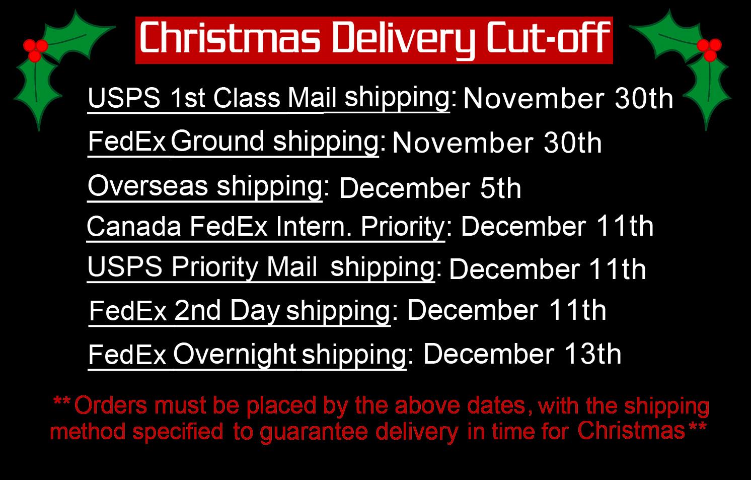 Custom Guitar Picks for Christmas