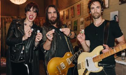 Custom Guitar Picks Halestorm