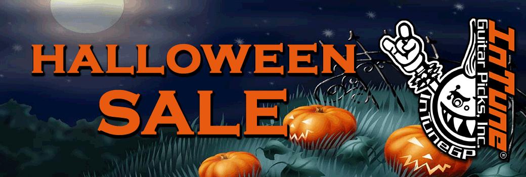 Custom Guitar Pick Halloween Sale