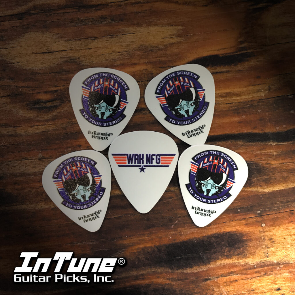 Custom Guitar Picks for Ryan Key