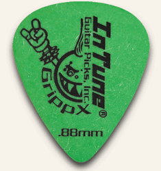 Custom Guitar Picks Green