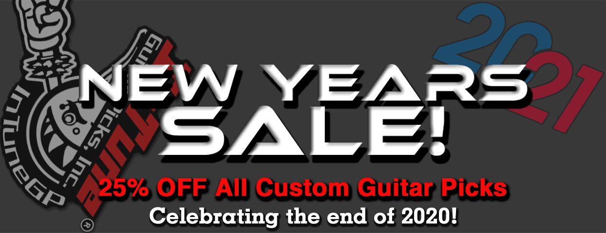 Goodbye 2020 Guitar Pick Sale