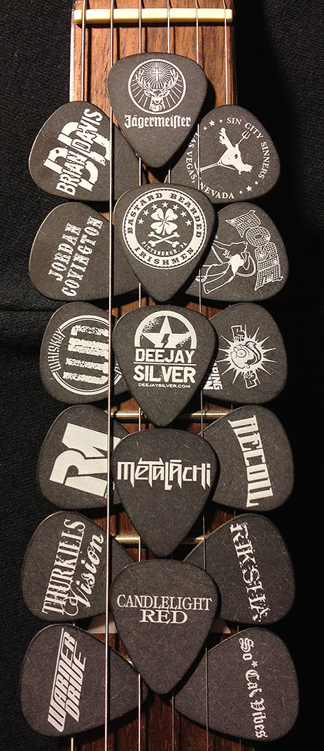 Jagermeister Guitar Picks