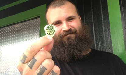 The Acacia Strain Personalized Guitar Pick