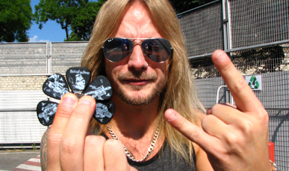 Promo Shots, InTuneGP Artist Richie Faulkner Guitar Picks