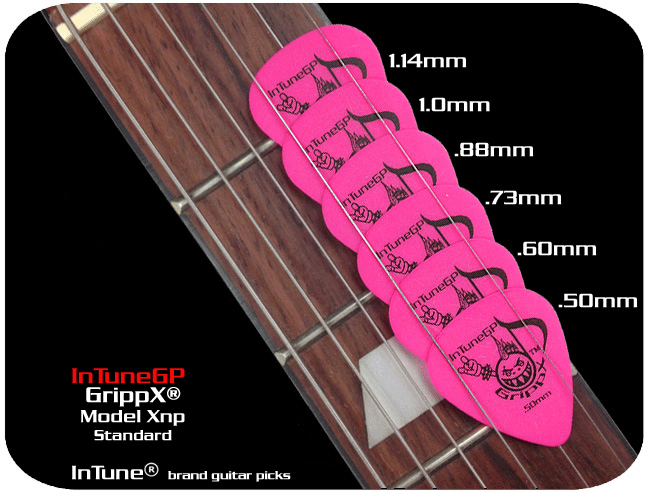 GrippX-Xny Personalized Guitar Picks