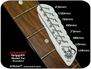 Custom Guitar Picks and Personalized Guitar Picks GrippX-Xw