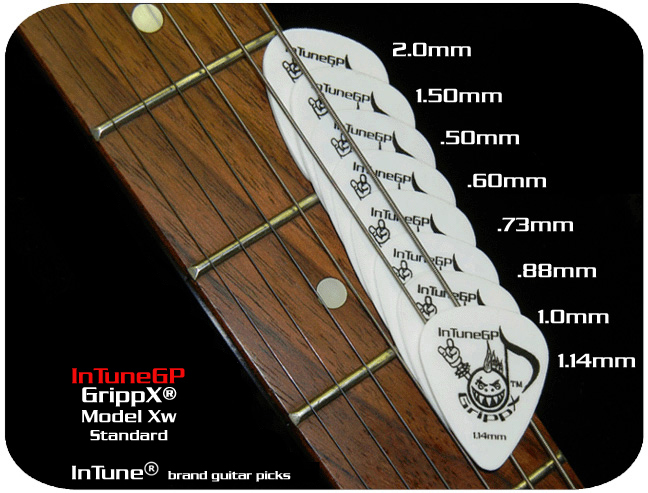 GrippX Xw Personalized guitar picks