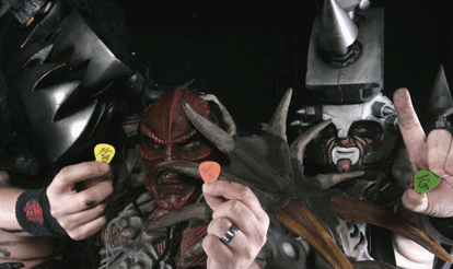 Gwar Custom Guitar Picks, Personalized Guitar Picks