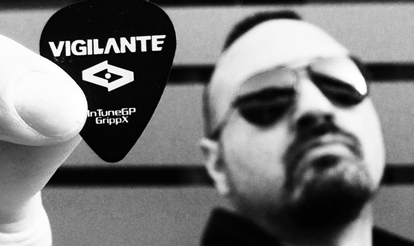 Vigilante Custom Guitar Picks, Personalized Guitar Picks