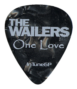 Single Color Guitar Pick Printed Samples  Wailers