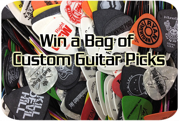 Win Custom Guitar Picks