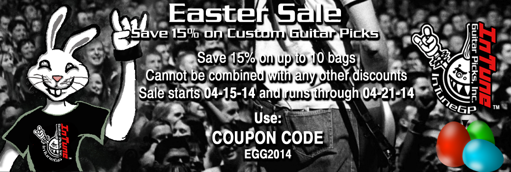 Custom Printed guitar Pick Sale