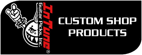 Custom Shop Personalized Guitar Picks by InTuneGP