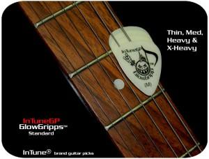 InTuneGP GlowGripp Custom Guitar Picks