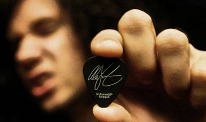 Alex Vincent Romantic Rebel Custom Guitar Picks, Personalized Guitar Picks