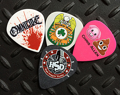 Full Color Personalized Guitar Picks