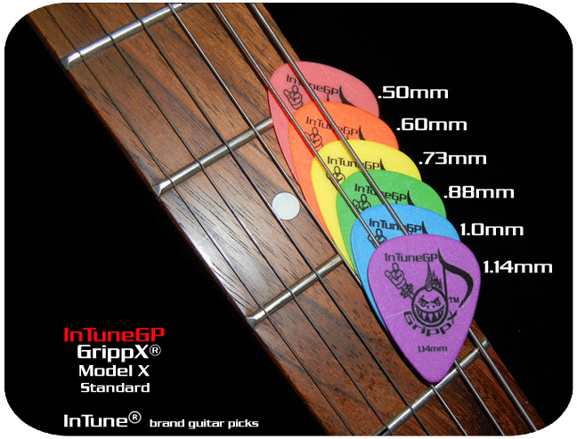 Custom Guitar Picks GrippX