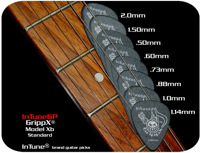 GrippX-XB Personalized Guitar Picks