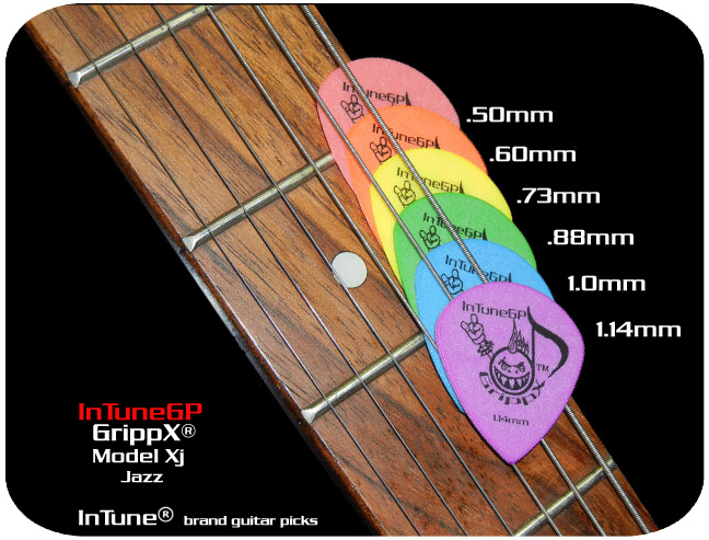 GrippX-Xj Personalized Guitar Picks
