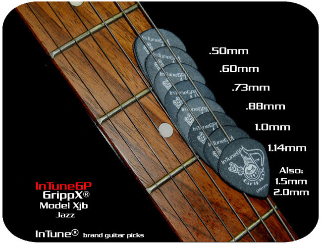 GrippX-Xjb Personalized Guitar Picks