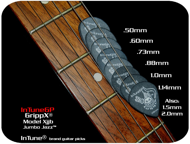 GrippX-Xjjb Personalized Guitar Picks
