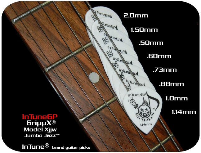 GrippX-Xjjw Personalized Guitar Picks