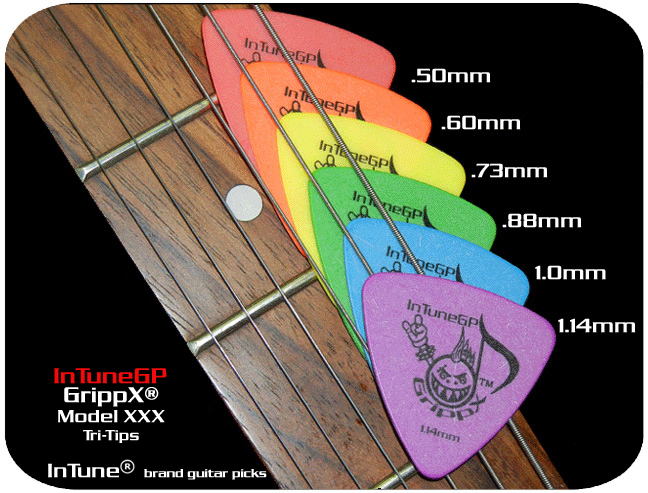 GrippX-XXX Personalized Guitar Picks
