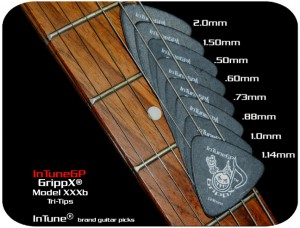 Custom Guitar Picks and Personalized Guitar Picks GrippX-XXXb