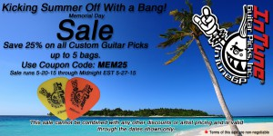 Custom and Personalized Guitar Picks